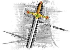 Épée Photographie stock