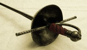 Épée Photos libres de droits