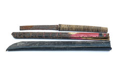 Épée antique de morceau Photo stock