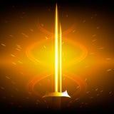 Épée d'or Image stock