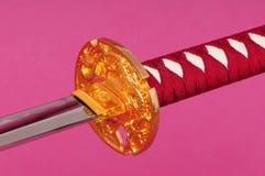 épée d'isolement de samouraï Photo libre de droits
