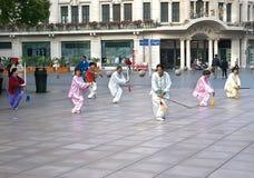 Épée de chi de Changhaï tai Images stock