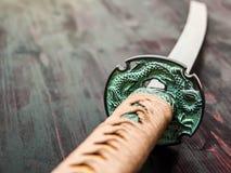 Épée de samouraïs de Katana Photos libres de droits