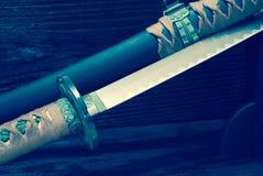 Épée de samouraïs de Katana Images stock