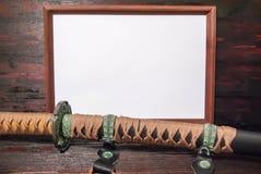 Épée de samouraïs de Katana Image stock