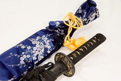 Épée japonaise Photo libre de droits