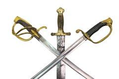 Épées Photos libres de droits