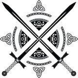 Épées d'imagination Image libre de droits