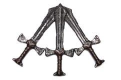 Épées de Medieaval Images stock