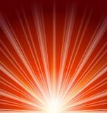 Épanouissement de lentille avec la lumière du soleil, fond abstrait Images libres de droits
