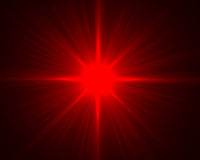 Épanouissement rouge illustration de vecteur