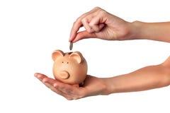 Épargnez l'argent Photo stock