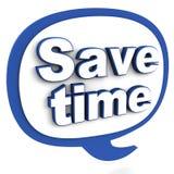 Épargnez le temps illustration libre de droits