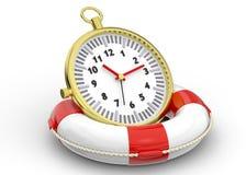 Épargnez le temps illustration de vecteur