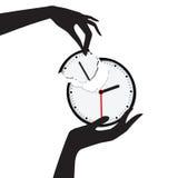 Épargnez votre temps Image libre de droits