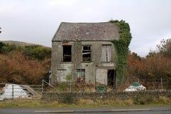 Épave d'une vieille maison Photo stock