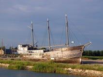 Épave de bateau Image libre de droits