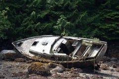 Épave de bateau Images libres de droits