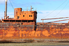 Épave de bateau de Desdemona Photo libre de droits