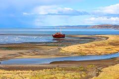 Épave de bateau de Desdemona Photos stock