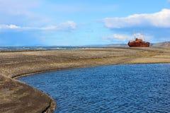 Épave de bateau de Desdemona Photographie stock