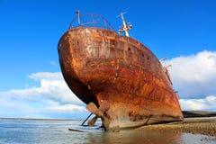 Épave de bateau de Desdemona Images libres de droits