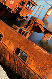 Épave en mer Photographie stock libre de droits