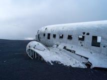 Épave plate près de vik Islande Photographie stock