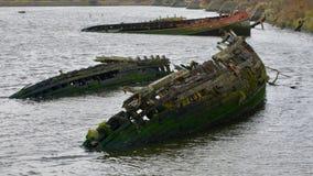 Épaves de bateau Photographie stock