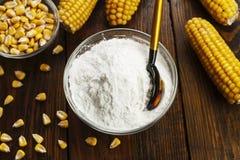 Épi d'amidon et de maïs Photos stock