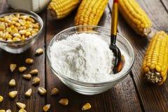 Épi d'amidon et de maïs Image stock