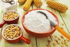 Épi d'amidon et de maïs Photo stock