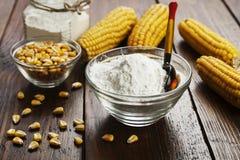 Épi d'amidon et de maïs Photographie stock libre de droits