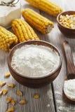 Épi d'amidon et de maïs Photographie stock