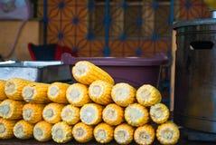 Épi de maïs brut photos libres de droits