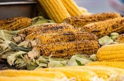 Épi de maïs rôti photos stock