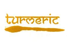 Épice de safran des indes Photos libres de droits