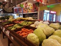 Épicerie à l'hypermarché géant, Malaisie Images libres de droits
