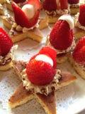Épicerie de fraise Image stock
