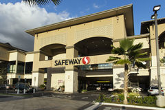 Épicerie de Safeway Photos stock