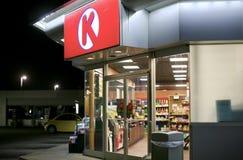 Épicerie du cercle K photo stock
