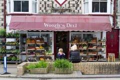 Épicerie du ` s de Woozie en Devon Images stock