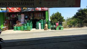 Épicerie en Java Indonesia images libres de droits
