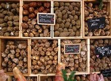 Épicerie française du marché Photos libres de droits