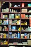 Épicerie générale démodée Images stock