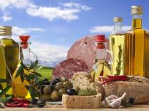 Épicerie italienne décorative Photo stock