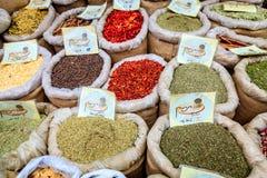 Épices à vendre Photo libre de droits
