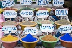 Épices égyptiennes Image libre de droits
