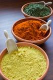 Épices aromatiques Photographie stock libre de droits
