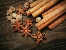 Épices aromatiques photo libre de droits